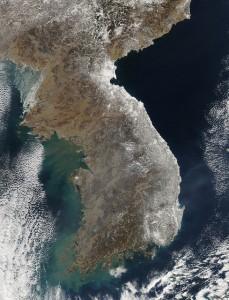 The Korean Peninsula, NASA Goddard Photo