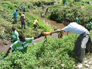 Nairobi River Cleaning Project