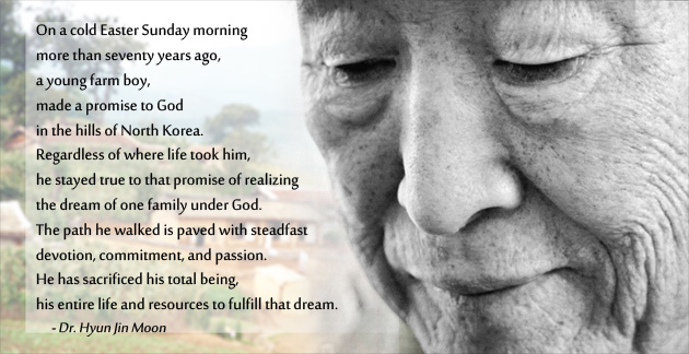 A Promise to Peace - Rev. Dr. Sun Myung Moon