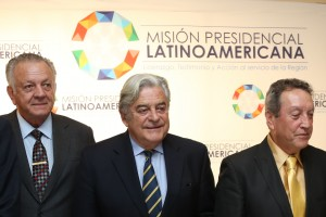 Presidents Wasmosy, Lacalle and Cerezo, Latin American Presidential Mission launched at the Global Peace Convention 2012