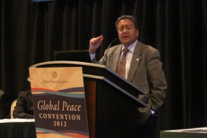 Dr. Manu Chandaria is a renown business man and philanthropist from Kenya connected economic opportunities to peace-building.