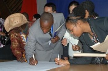 Kenyan National Youth Summit Reflects commitments