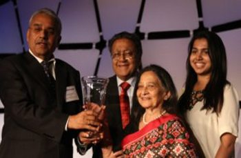 Demonstrating Global Excellence in Philanthropy: Dr. Manu and Mrs. Aruna Chandaria