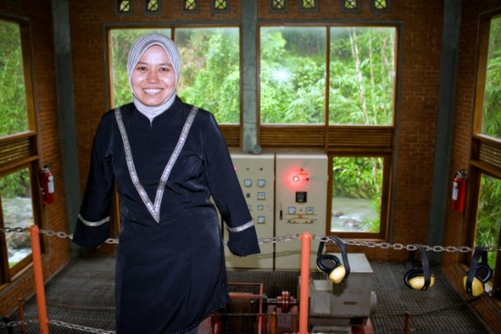 Tri Mumpuni introduced micro-hydro generators as a means to provide electricity to remote villages in Indonesia.