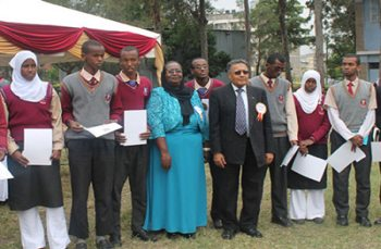 GPF Reports on Recognition of Character Competency Initiative in Nairobi Secondary Schools