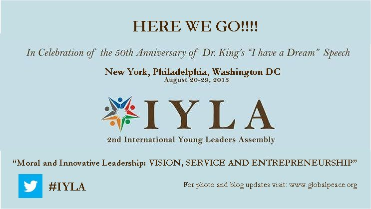 2nd International Young Leaders Assembly (IYLA) ,2013