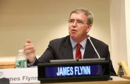Jim Flynn at the United Nations