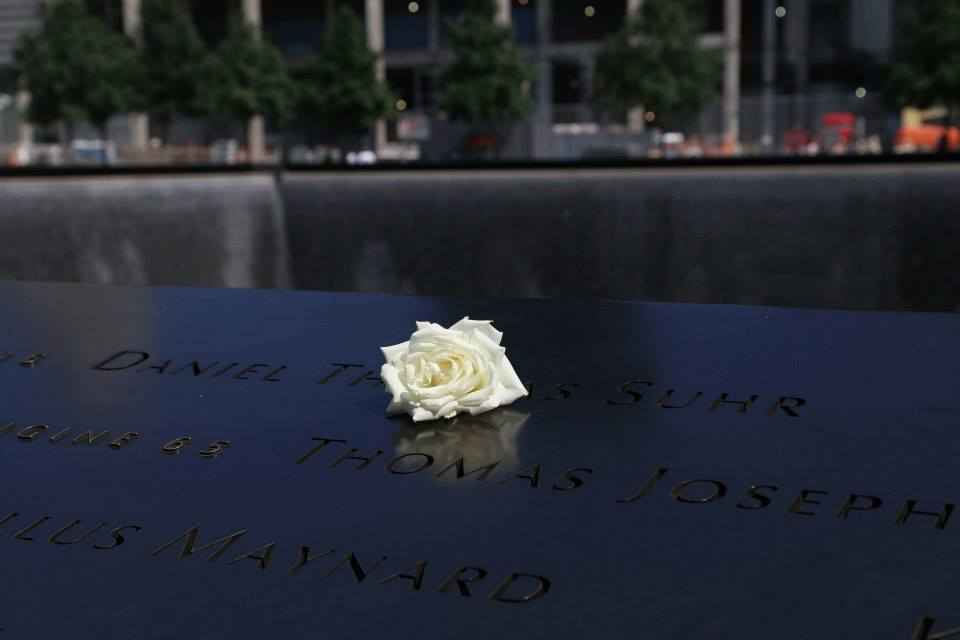 The footprints of the Twin Towers in Manhattan are now a memorial to the bravery and service of responders.