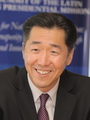 Dr. Hyun Jin Moon, Founder and Chairman of the Global Peace Foundation.