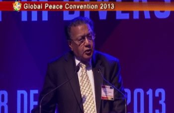 Global Peace Conference 2013 Opening Plenary: Dr. Manilal Chandaria