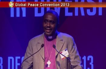 Global Peace Convention 2013 Plenary II: Bishop Sunday Onuoha