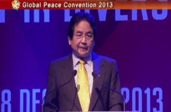 Global Peace Convention 2013 Opening Plenary: Hon. Tan Sri Datuk Kurup