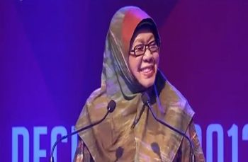Global Peace Convention 2013 Opening Plenary: Hon. Tan Sri Zaleha Ismail