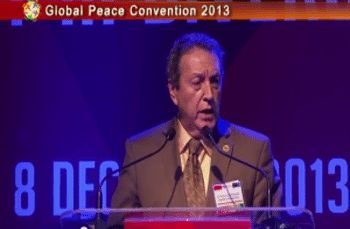 Global Peace Convention 2013 Opening Plenary: H.E. Marco Vinicio Cerezo