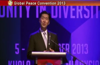 Global Peace Convention 2013 Closing Speech: Dr. Hyun Jin P. Moon