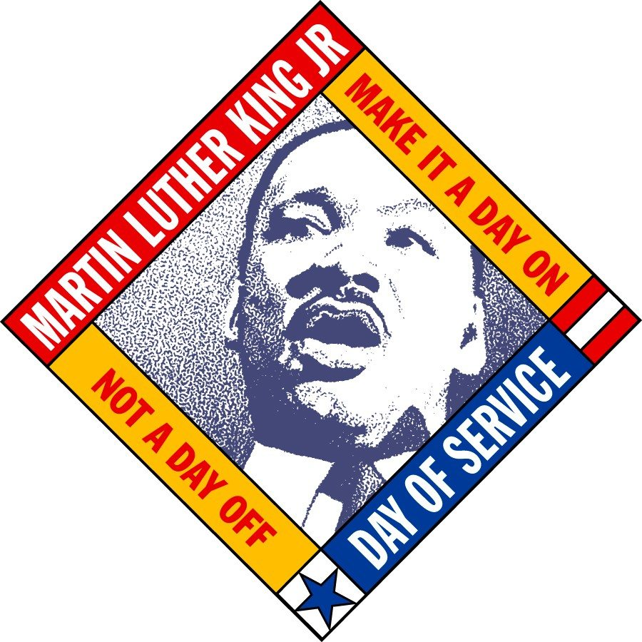 In 1994 Martin Luther King Day was made an official day of service.