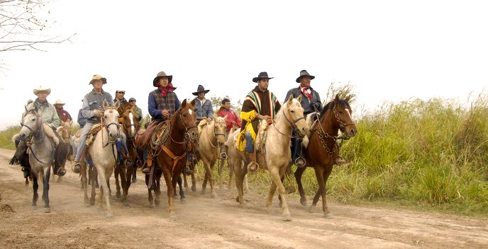 moral authority in the Paraguay cattle drive in 2008