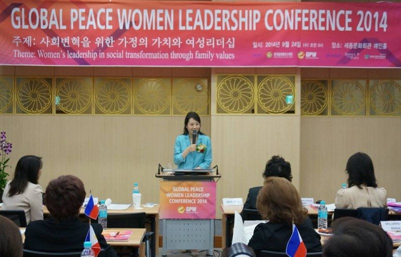 Chairwoman of Global Peace Women, Jun Sook Moon, Calls for Strengthening Families as the Foundation for Social Transformation