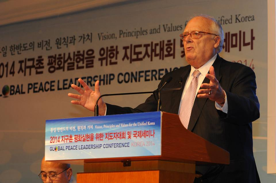 "Heritage Foundation founder and Asian Studies Center Chairman Dr. Edwin J. Feulner: ""Korean unification would require, quite simply, either fundamental political and economic reform by North Korea or the collapse of the regime."""