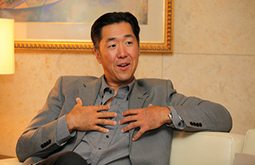 "Korea Times Interview ""Unification can be 'adrenaline' for economy"""
