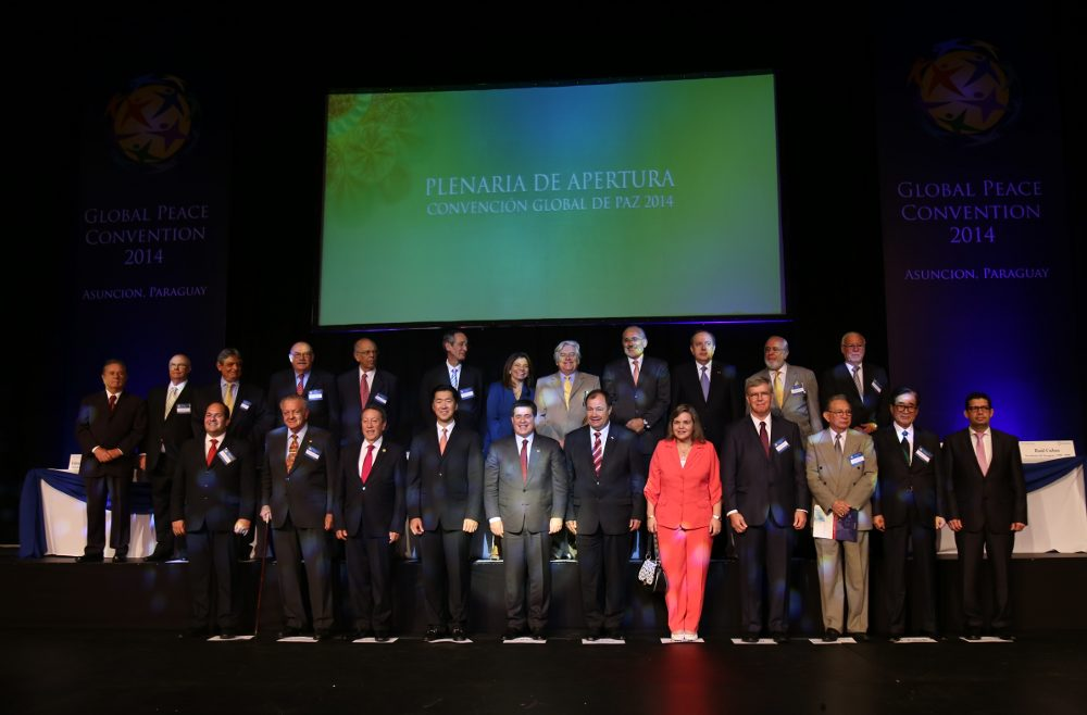 WORLD LEADERS CONVENE IN ASUNCIÓN FOR SIXTH GLOBAL PEACE CONVENTION