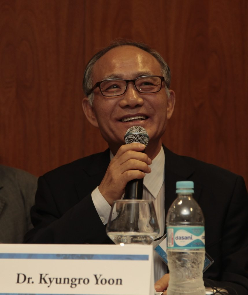 Dr. Kyungro Yoon speaking