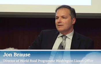 Jon Brause, World Food Program, Global Peace Foundation, CSIS DC Forum