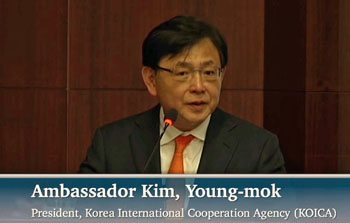 ambassador kim, President of KOICA, Global Peace Foundation, CSIS Forum