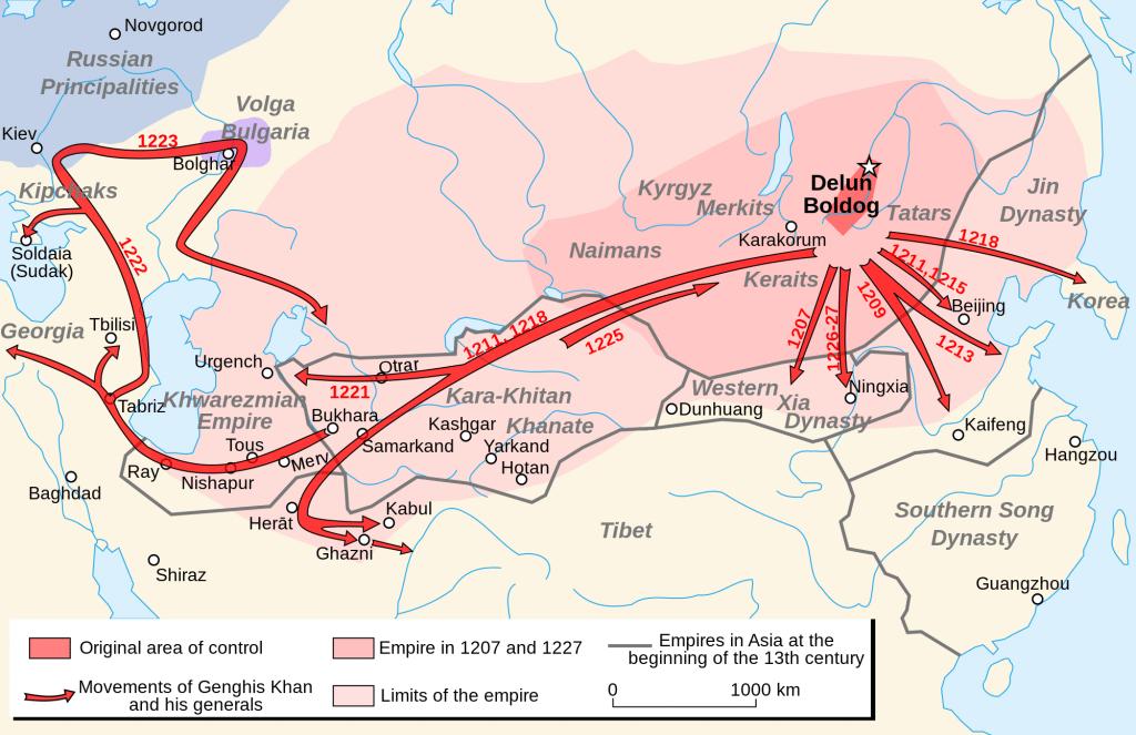 Genghis_Khan Empire
