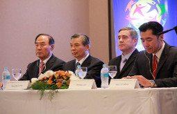 Hyun Jin Moon Korea-Paraguay Symposium Global Peace Foundation