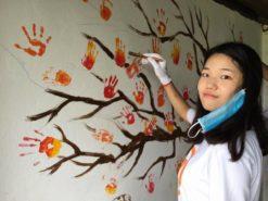cambodia, all lights, korea, volunteer, gpf