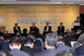 Leaders gather at the Global Peace Economic Forum