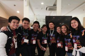 Youth leaders at the 2016 Global Youth Summit in the Philippines
