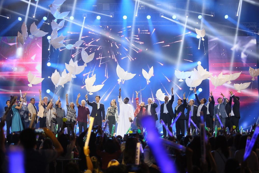 In the News: Civic committee launches unification song at Manila concert