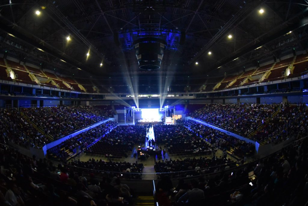 SM Mall of Asia Arena - Global Youth Summit 2017