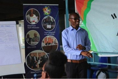Herman Kajiru at Youth Empowerment Workshop