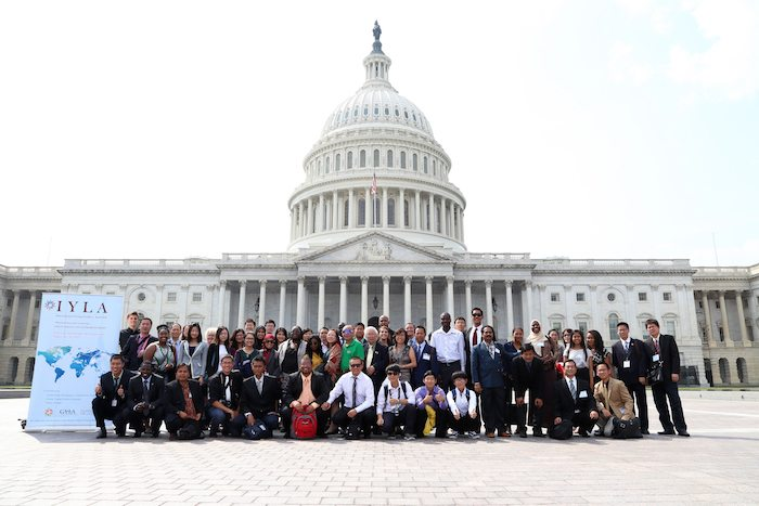 IYLA 2013 in front of the Capitol Building in Washington DC