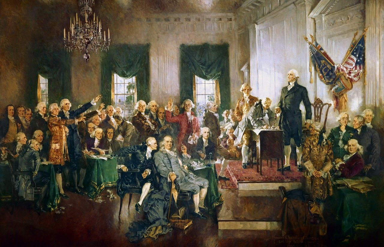 George Washington-interacting-discussion-public life