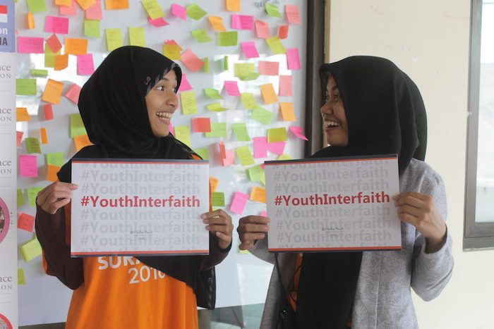 Youth from Indonesia participate in Global Peace Foundation interfaith assembly