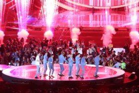 K-pop stars at the 2015 One K Concert in Seoul