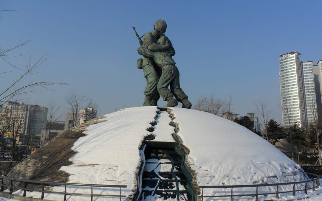 Statue of Brothers Seoul Korea