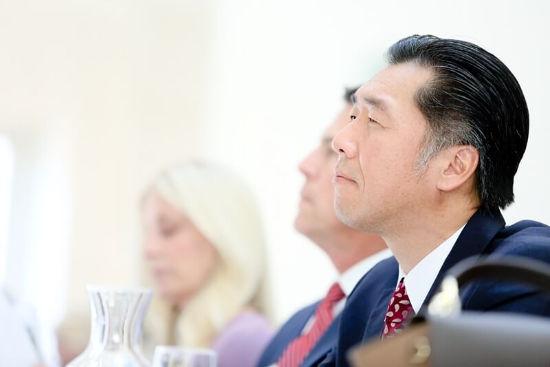 Dr. Hyun Jin P. Moon-One Korea International Forum-Ronald Regan International Trade Building-Washington D.C.