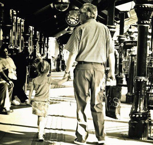 Growing Up with Grandma and Grandpa