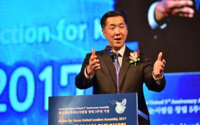 Action for Korea United 5th Anniversary Assembly Remarks By Dr. Hyun Jin P. Moon
