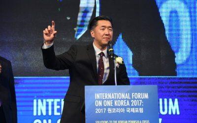 International Forum on One Korea 2017 Keynote Address By Dr. Hyun Jin P. Moon