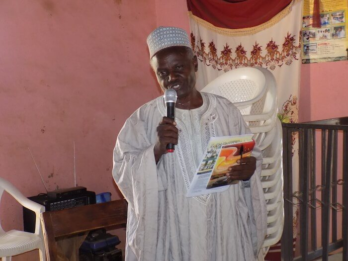 Religious leaders-community meeting in Goska-relieve inter-religious tension in Nigeria