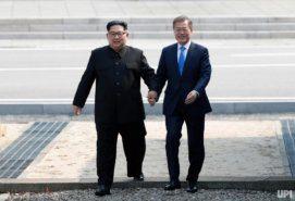 Kim Jong-un and Moon Jae-In,  Inter-Korea Summit