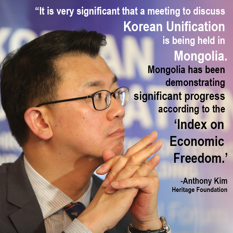 Anthony Kim, a researcher at the Heritage Foundation ,United States