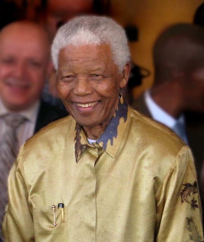 Nelson Mandela, South Africa's first black President
