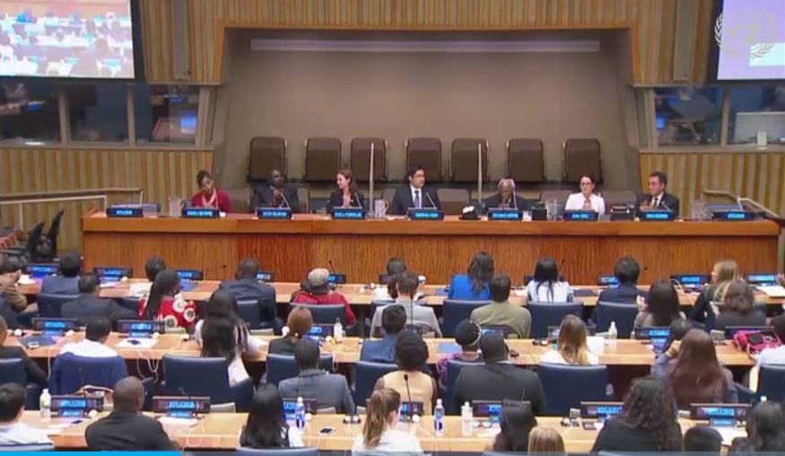 """""""What is Moral and Innovative Leadership?"""" Shinwon Moon Addresses International Young Leadership Assembly at the United Nations"""